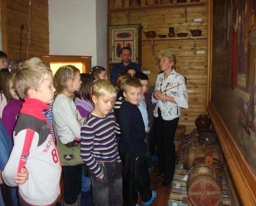 Музей в село Ломоносово